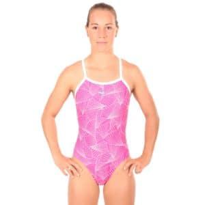 Nereid Badeanzug Curves Pink Front